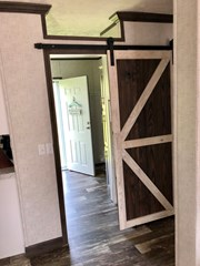 Utility with Sliding Barn Door