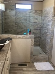 Rock Star Tile Shower