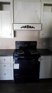 Range with Decorative Range Hood