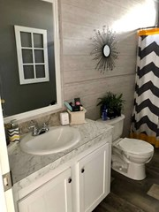 Guest Bathroom & Shiplap
