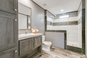 Rock Star Walk In Tile Shower